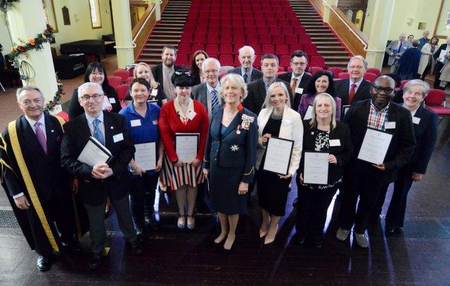 West Yorkshire award recipients
